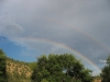 Rainbow, outside Hot Springs